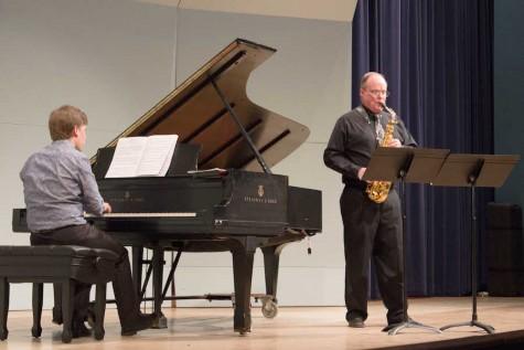 Marshall professor featured in saxophone recital