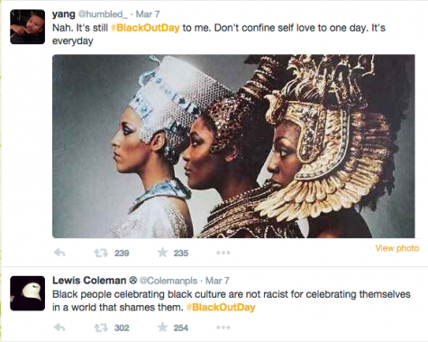 #BlackOutDay beautifies social media