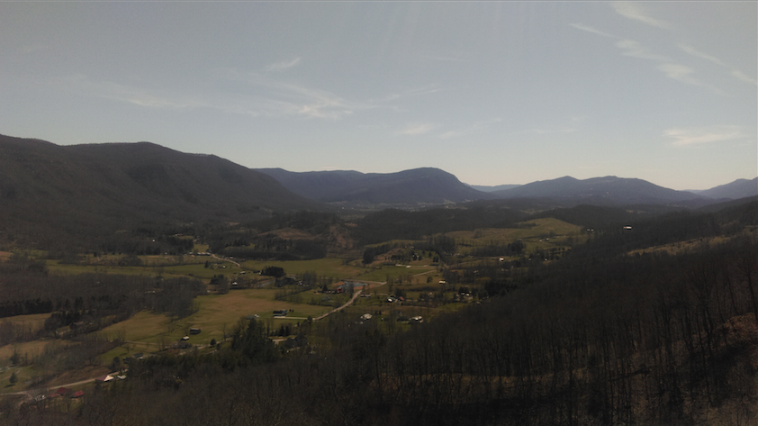 The+mountains+at+Benge%27s+Gap+overlook+in+Virginia.