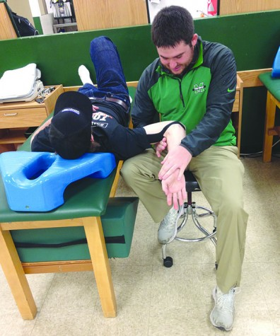 Athletic training keeps Herd athletes healthy