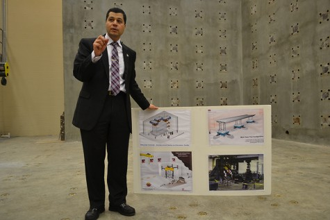 Construction of engineering complex enters its final stage
