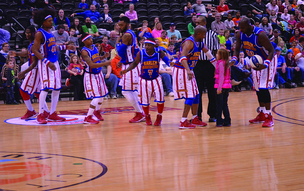 The Harlem Globetrotters take on the Washington Generals March 11 at the Big Sandy Superstore Arena.