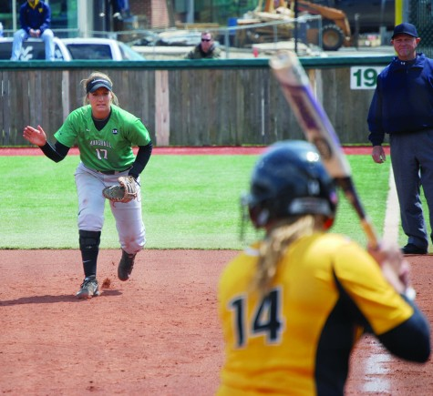 Herd softball dominates in double header