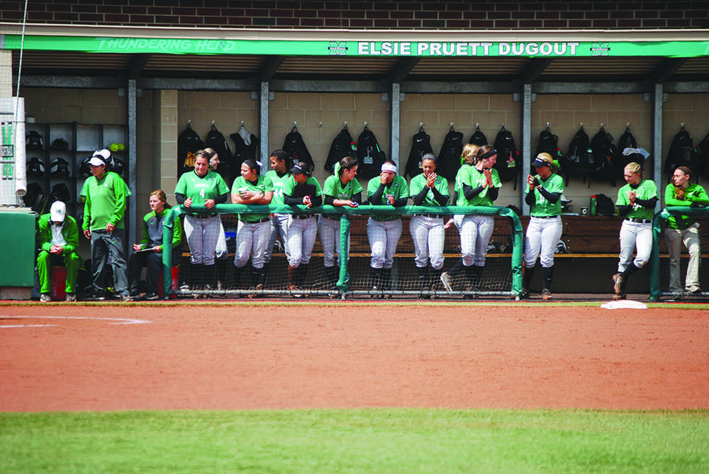 Herd Softball dominates Northern Kentucky University Wednesday at Dot Hicks Field.
