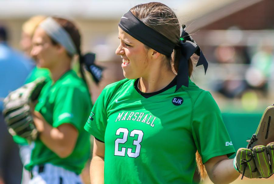 The Thundering Herd softball team swept Wright State University Tuesday in a doubleheader at Dot Hicks Field. The Herd won the first game 3-2 on a walk-off by Morgan Zerkle and the second game by a score of 11-2.