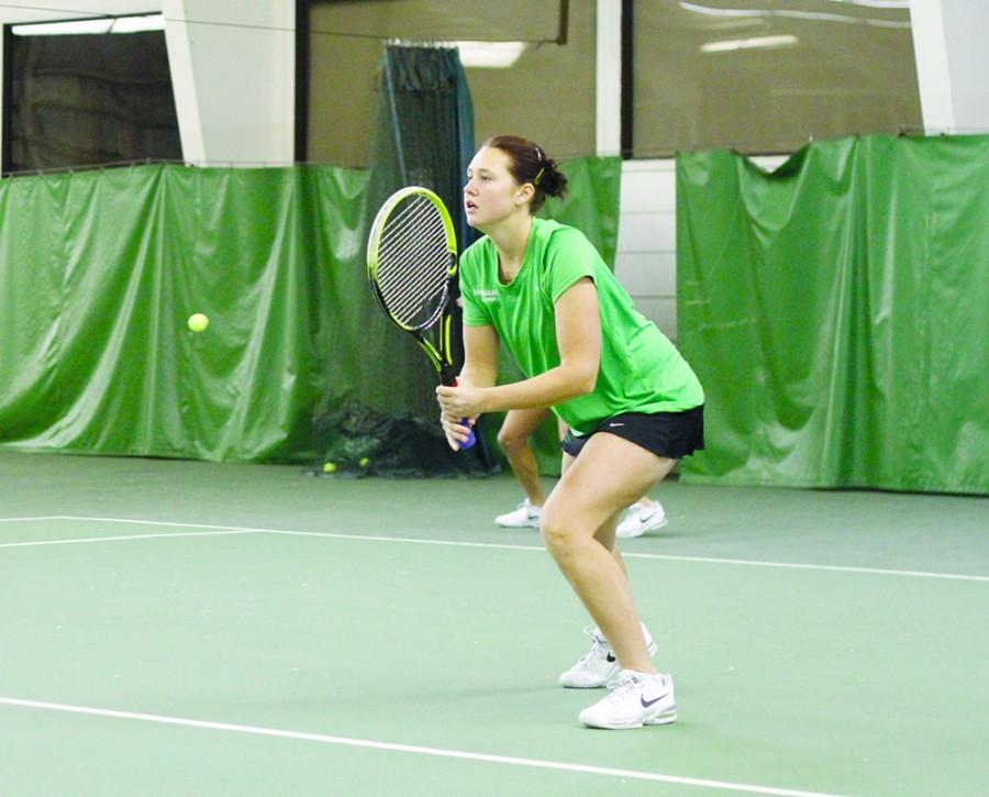 Marshall+University+plays+Radford+University+at+the+Huntington+Tennis+Club+in+Barboursville%2C+W.Va.%2C+on+Sunday%2C+Jan.+26.