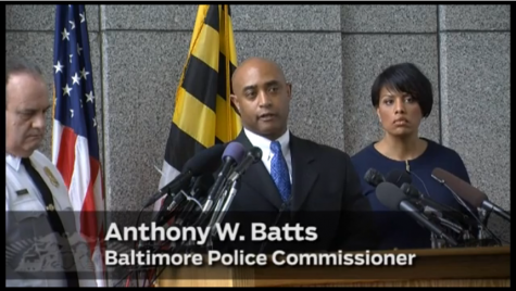 "In this Baltimore Sun video, Baltimore Police Commissioner Anthony W. Batts, along with Baltimore Mayor Stephanie Rawlings-Blake,  discusses the events leading up to the death of Freddie Gray. Batts said on behalf of the police department, ""we will get better."""