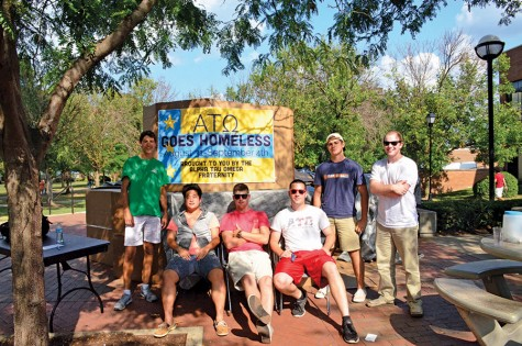 Alpha Tau Omega raises awareness for the homeless