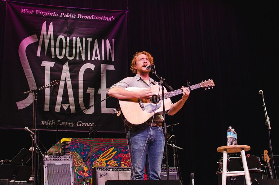 Tyler Childers performs on Mountain Stage.