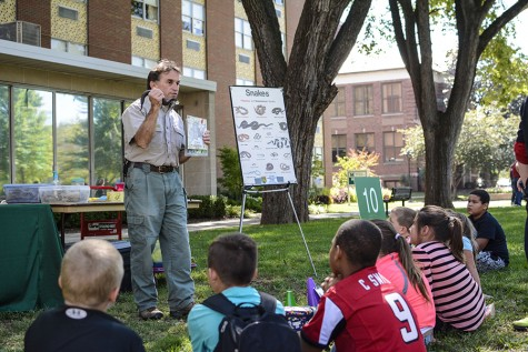 Elementary students enjoy a day on campus for Water Festival