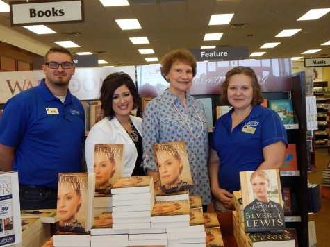 New York Times Bestselling Author Meets Readers at Local Christian Bookstore