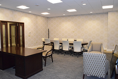 Remodeling Makeover for Presidents Office and Other Buildings