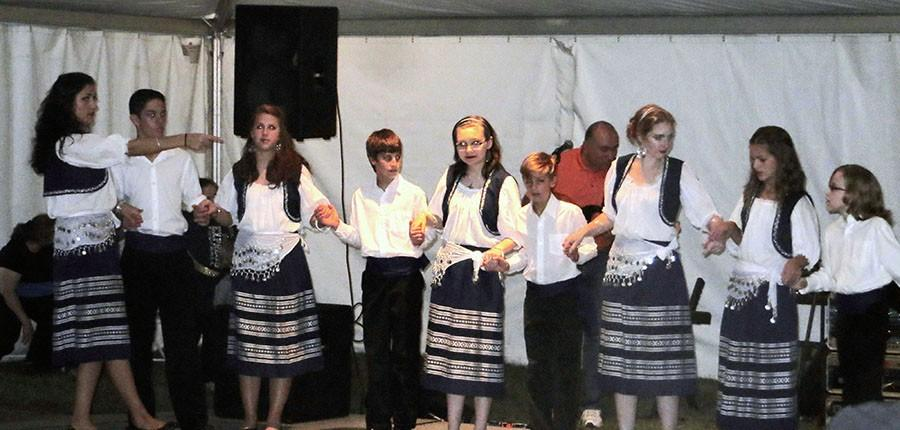 Dancers perform both traditional and modern styles of dance from various parts of Greece to entertain guests at the 33rd annual Greek Fest.
