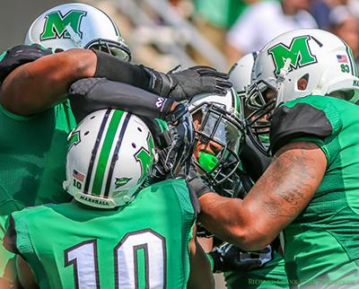 Marshall players prepared for rivalry match