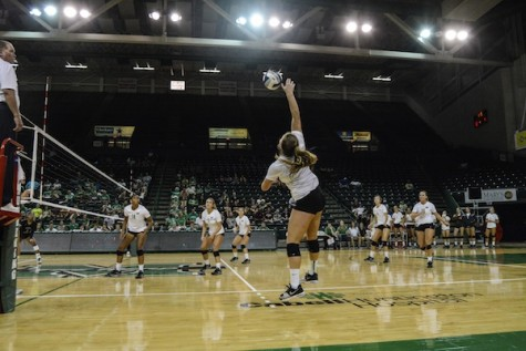MU volleyball beats EKU 3-1, remains undefeated
