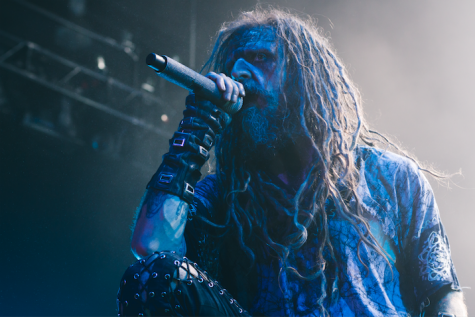 Rob Zombie performs at the Big Sandy Arena Tuesday.