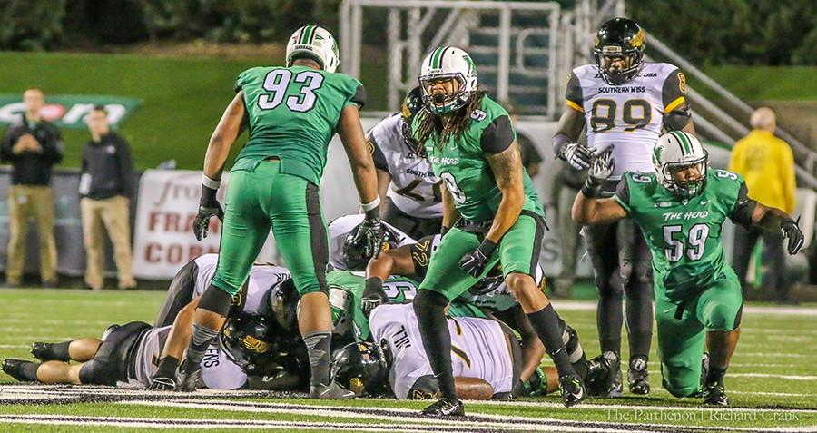 Herd+takes+on+North+Texas+in+Homecoming+game