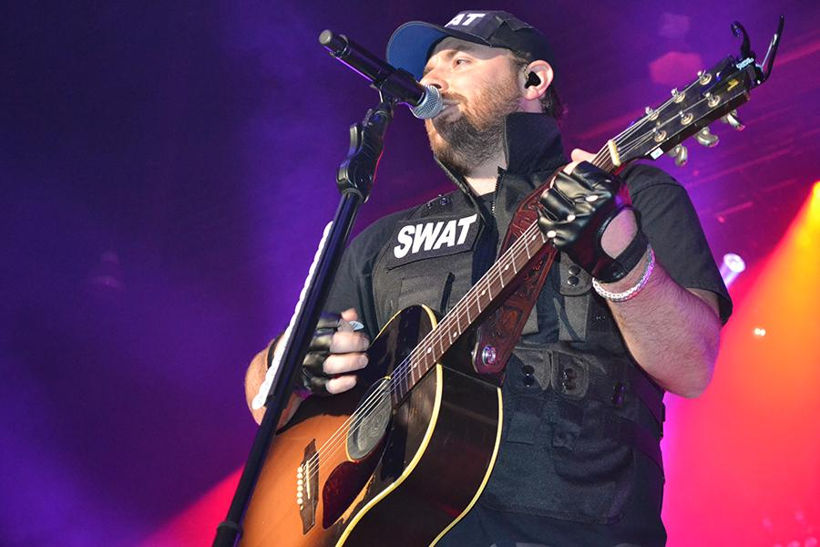 Country star Chris Young performs Halloween night at the Big Sandy Superstore Arena.