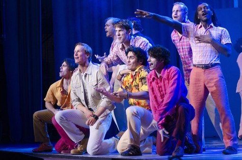 'Mamma Mia' sings  on Keith Albee stage