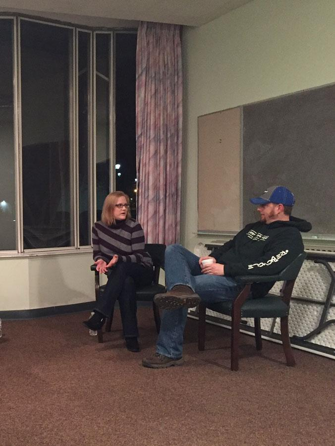 Amanda Coleman and Tim Adkins, The Directors of Harmony House and The Burrito Riders/ReBicyle spoke to the UKirk ministry about their call to work with the homeless, January 19, 2016.