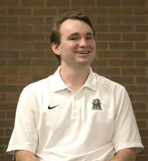 Nate Miklas, SGA presidential candidate.