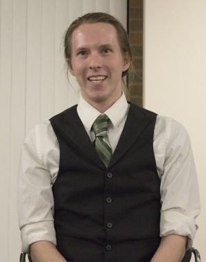 Leif Olson, SGA presidential candidate.