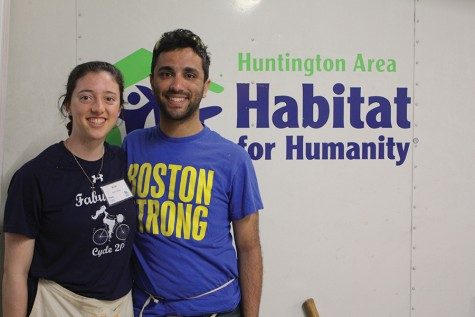 Boston College students spend break volunteering in Huntington