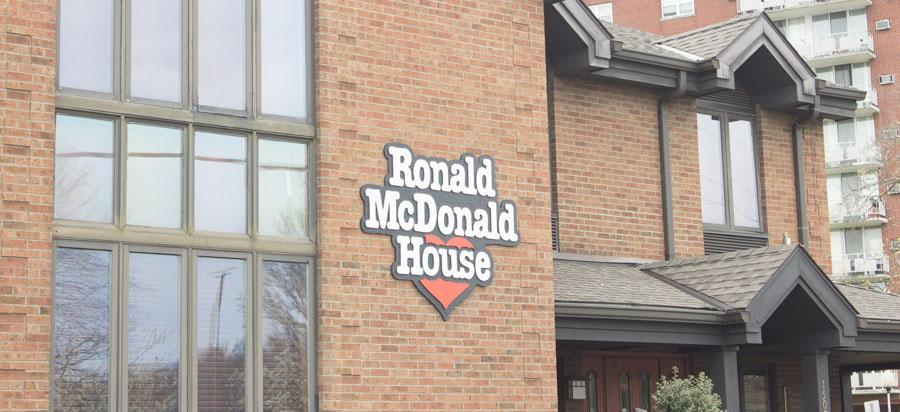 Marshall University public relations capstone class joins with The Ronald McDonald House to host an event that includes reverse raffle, silent auction and more.