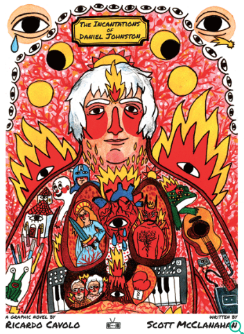 Incantations Of Daniel Johnston cover