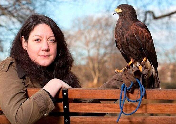 """Helen Macdonald, author of """"H is for Hawk."""""""