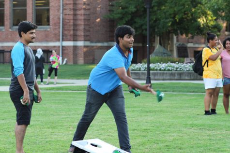 INTO kicks off semester with welcome back party
