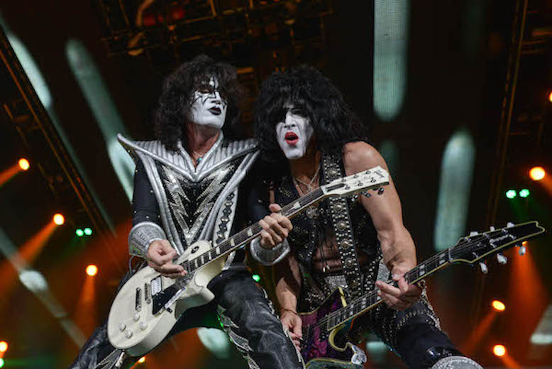 Lexi Browning/The Parthenon Revered rock band KISS performs before a full crowd Saturday, Sept. 10 at the Big Sandy Superstore Arena. The classic rock concert broke the arena's record for the most tickets purchased for a single show.