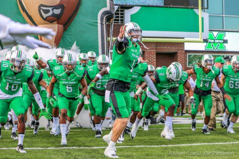Herd seeks second win over Akron