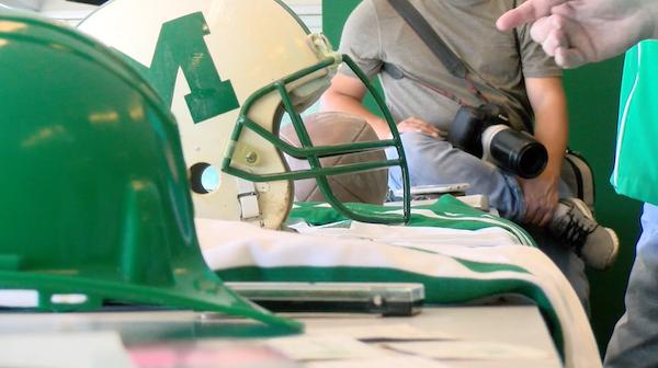 Marshall athletics opens time capsule after 25 years