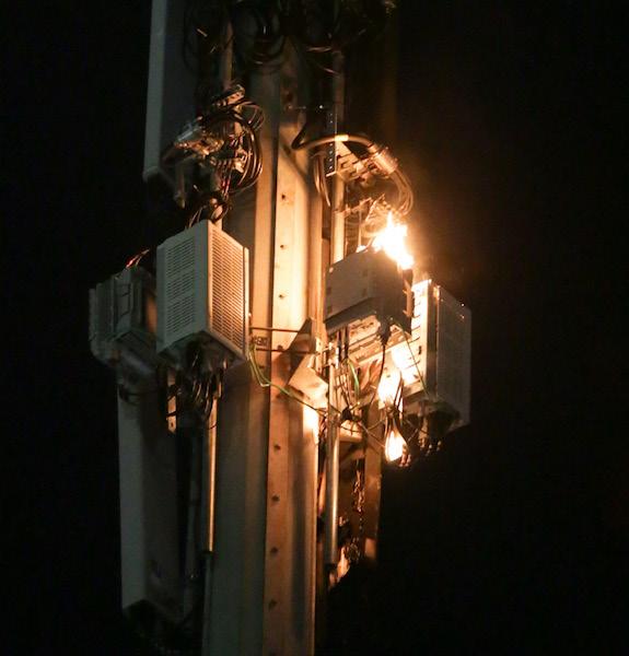 Stadium fire ruled arson