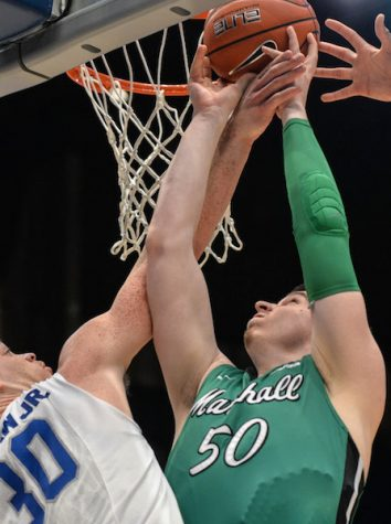 Marshall men's basketball wins thriller over North Texas