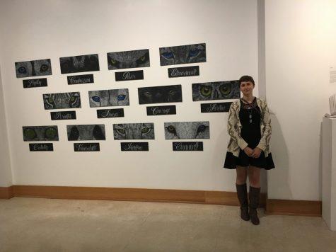 Meet senior capstone exhibit artist Ashleigh Adkins