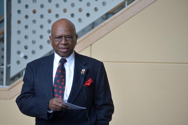 Community leader presented first Carter G. Woodson Lyceum award