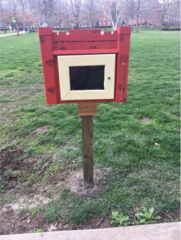 Little Free Library turns a new page for sociology club