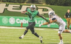 King crowned in second half of Herd's win
