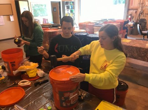 Student group sends bucket-fulls of flood relief to hurricane survivors