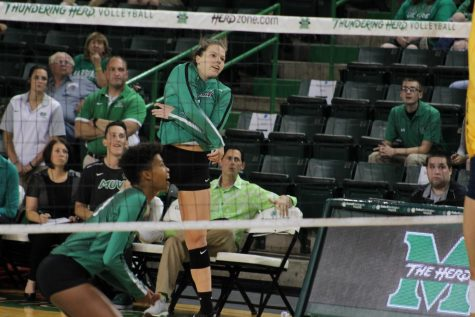 Marshall volleyball comes up short in the battle for the Golden Ball