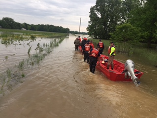 Huntington's Marine Safety Unit aid in hurricane relief