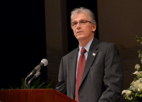 Departing provost eager to re-enter classroom