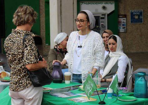 Cake, coffee, culture on hand during National Saudi Arabia Day