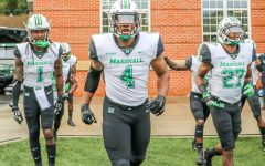 Herd linebacker Young's presence felt in debut