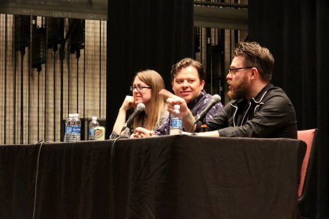 McElroys offer a humorous educational experience at Yeager symposium