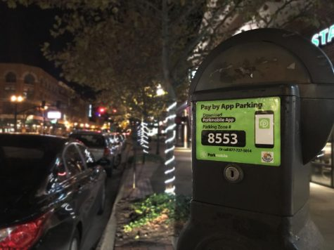 New way to pay for parking around town