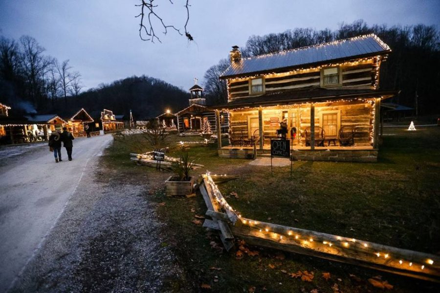 Heritage Farm's annual Christmas Village features Christmas lights, a carriage ride, craft making and more. The village is open through Saturday.