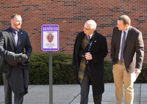 Marshall receives Purple Heart accreditation